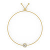 Electra Bolo Bracelet in Yellow Gold