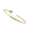 Comet Bangle in Yellow Gold