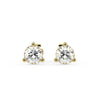 Sirius Martini Stud Earrings Yellow Gold