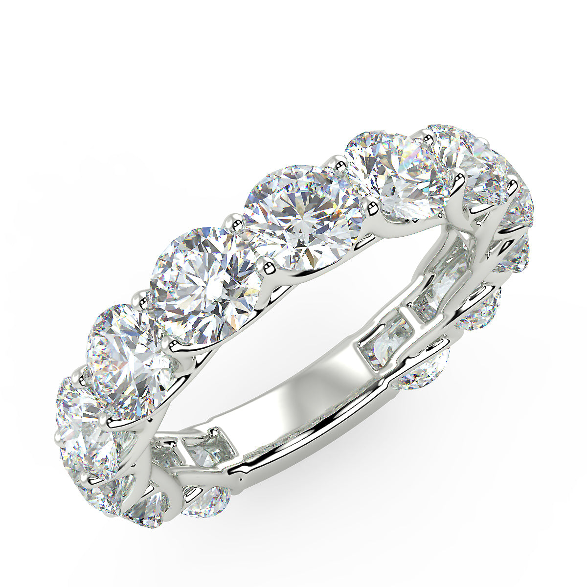 Touch the Stars Ring in White Gold (4.16 Ct. Tw.)