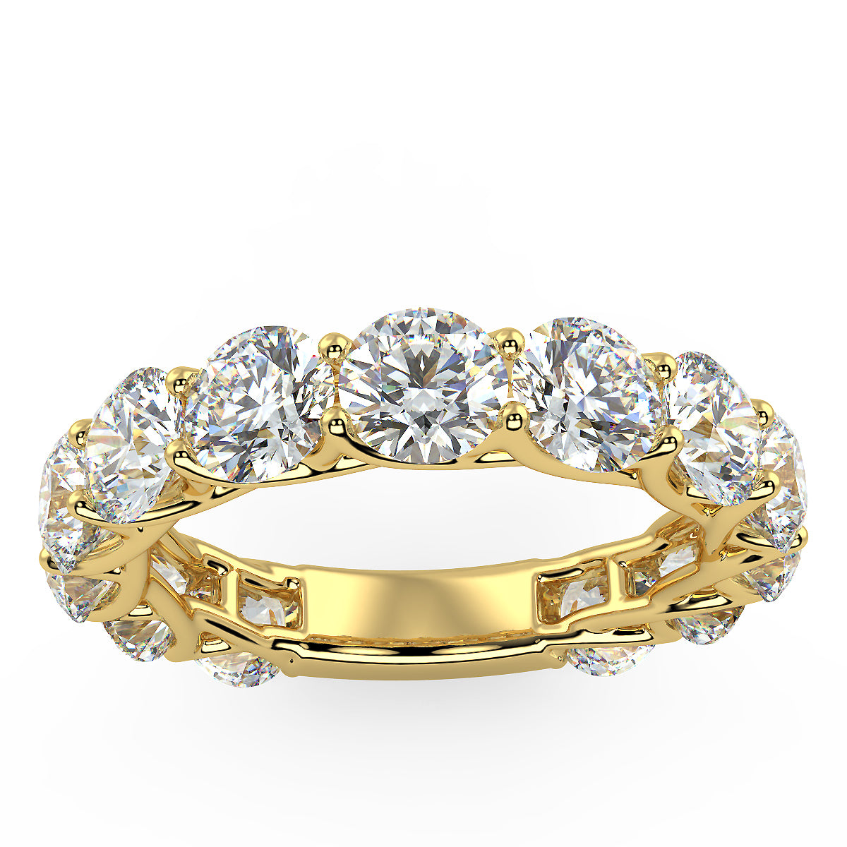 Touch the Stars Ring in Yellow Gold (4.16 Ct. Tw.)