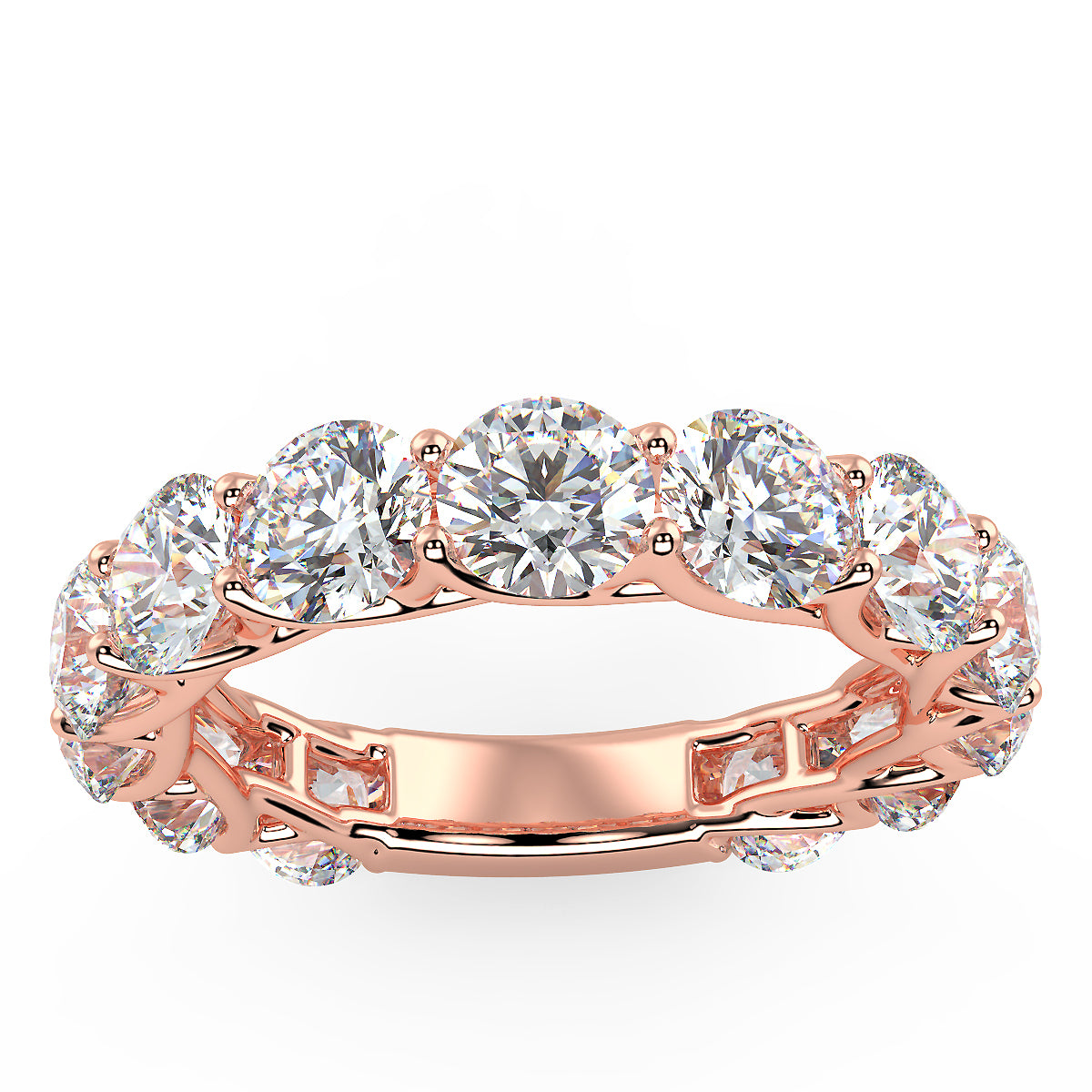 Touch the Stars Ring in Rose Gold (4.16 Ct. Tw.)