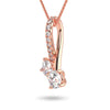 Binary Necklace - Rose Gold (0.50 Ct. Tw.)