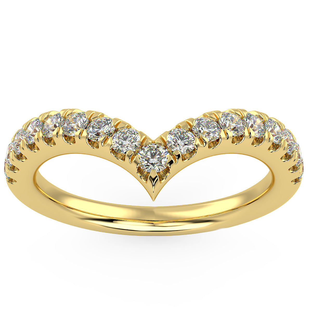 Gravity Ring in Yellow Gold