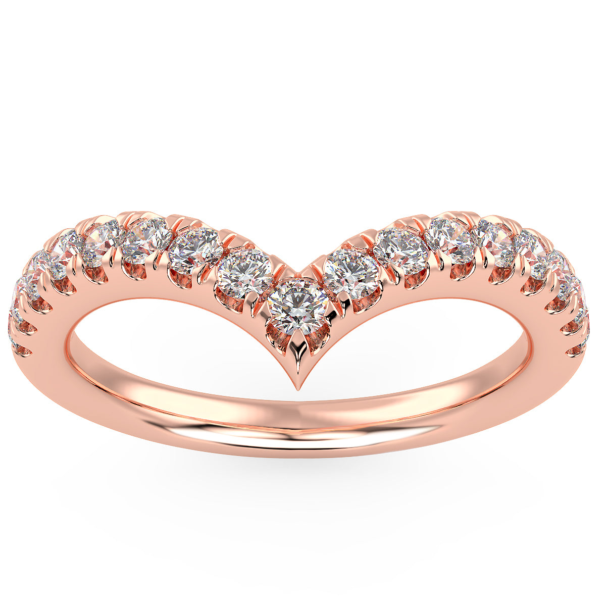 Gravity Ring in Rose Gold