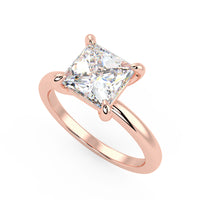 Sirius Engagement Ring in Rose Gold