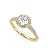 Polaris Engagement Ring in Yellow Gold