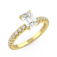 Europa Engagement Ring in Yellow Gold