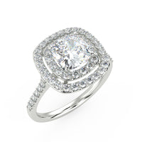 Andromeda Engagement Ring in White Gold