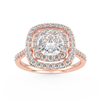 Andromeda Engagement Ring in Rose Gold