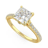 Lyra Engagement Ring in Yellow Gold