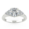 Zania Engagement Ring in White Gold