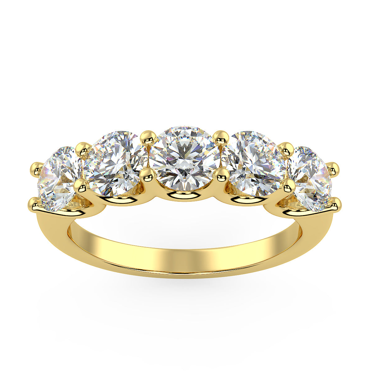 Asteroid Band in Yellow Gold (1.80 Ct. Tw.)
