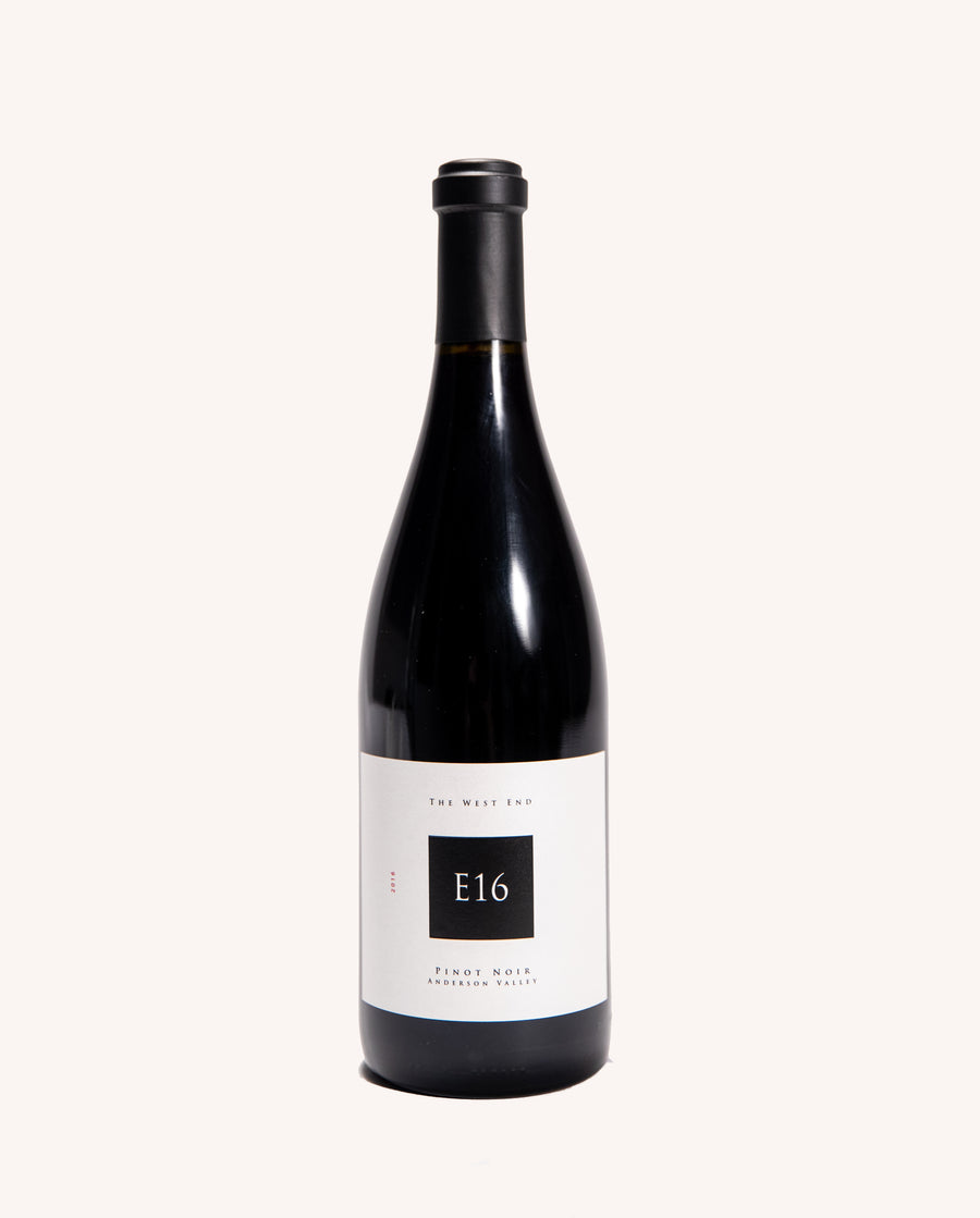E16 Pinot Noir - Anderson Valley - West End 2016