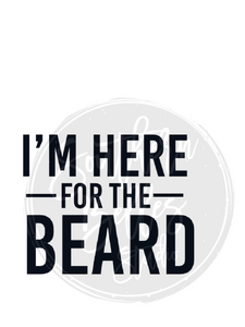 Here for the Beard Png Shirt File