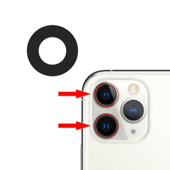 iPhone 11 Series Rear Camera Lens  (3 PCS)