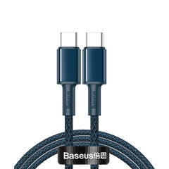 Baseus High Density Braided Fast Charging Data Cable Type-C to Type-C 100W 1M,2M