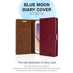 Mercury Blue Moon Diary Cover for iPhone 5 5S 5C SE