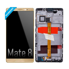 Huawei Mate 8 LCD Screen Digitizer Replacement Full Assembly (High Quality Refurbished)