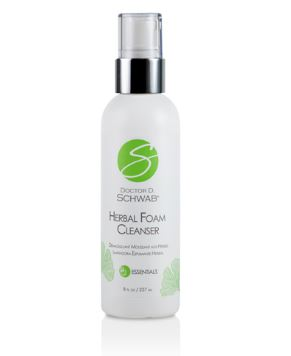 Dr. Schwab Herbal Foam Cleanser 8oz.