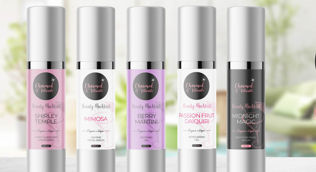 Beauty Mocktails Gels & Serums Collection