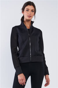 """Scuba Diving"" Activewear Zip Up Jacket"