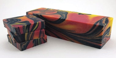 Galaxy Swirl Cold Process Soap