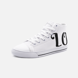 LOVE Unisex High Top Canvas Shoes