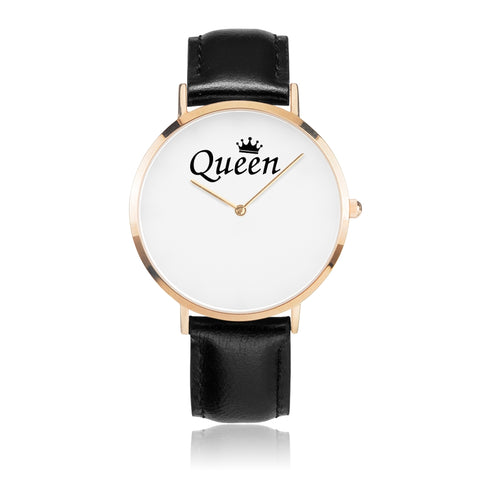 King - Queen Premium Genius Strap Watches For Lovers