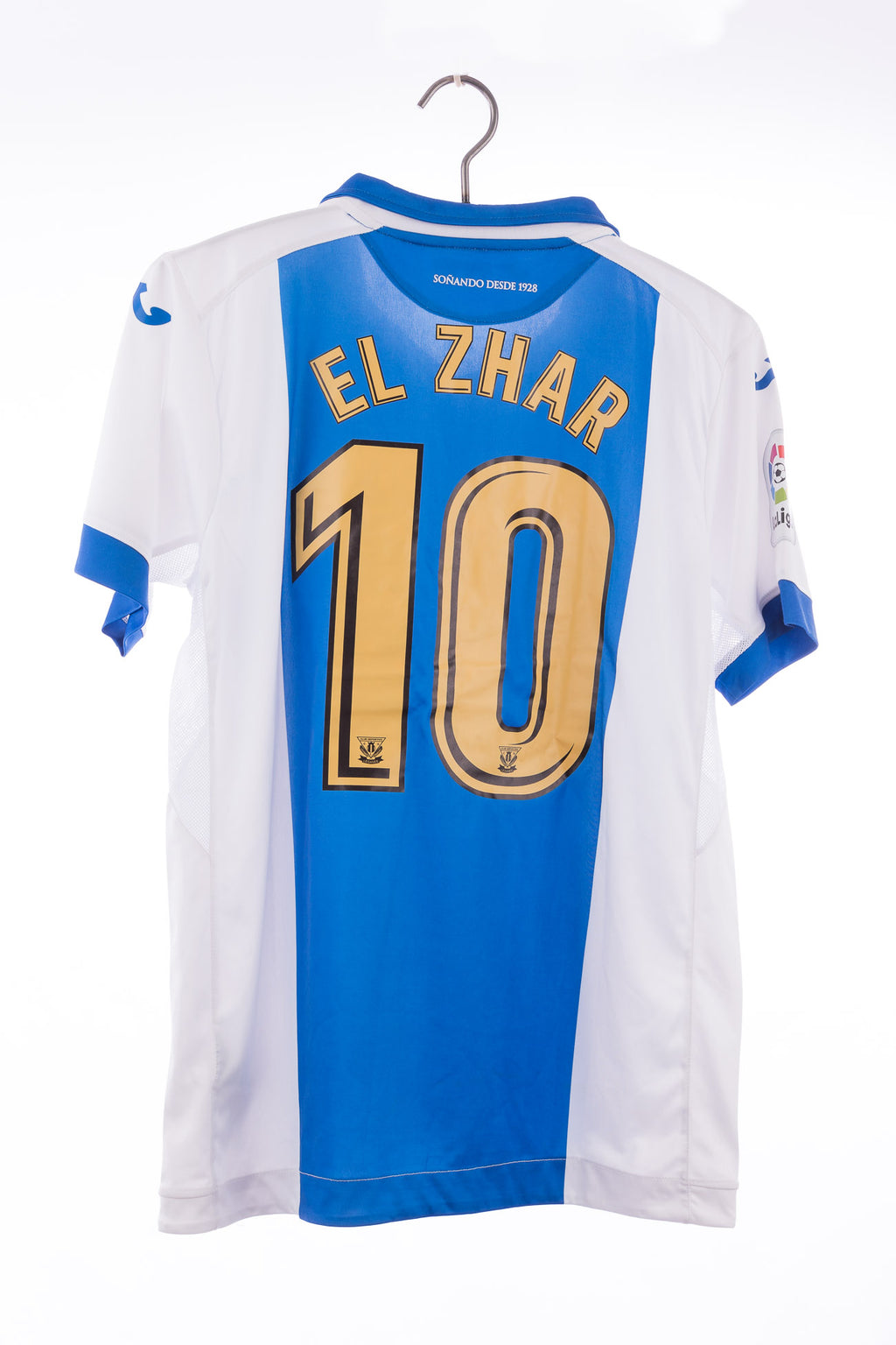 Leganés 2017 - 2018 Joma Home Football Shirt #10 El Zhar
