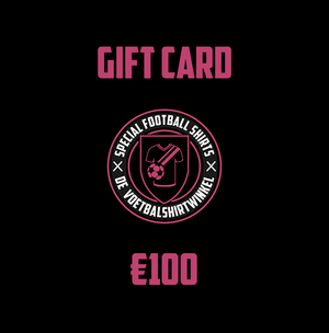 Special Football Shirts Gift Card
