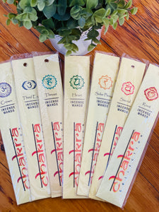 Chakra Collection Incense Wands
