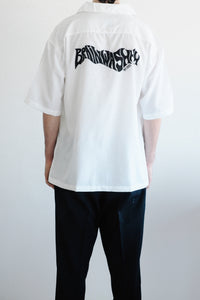 Brainwashhh M1992 Short Sleeve white Shirt