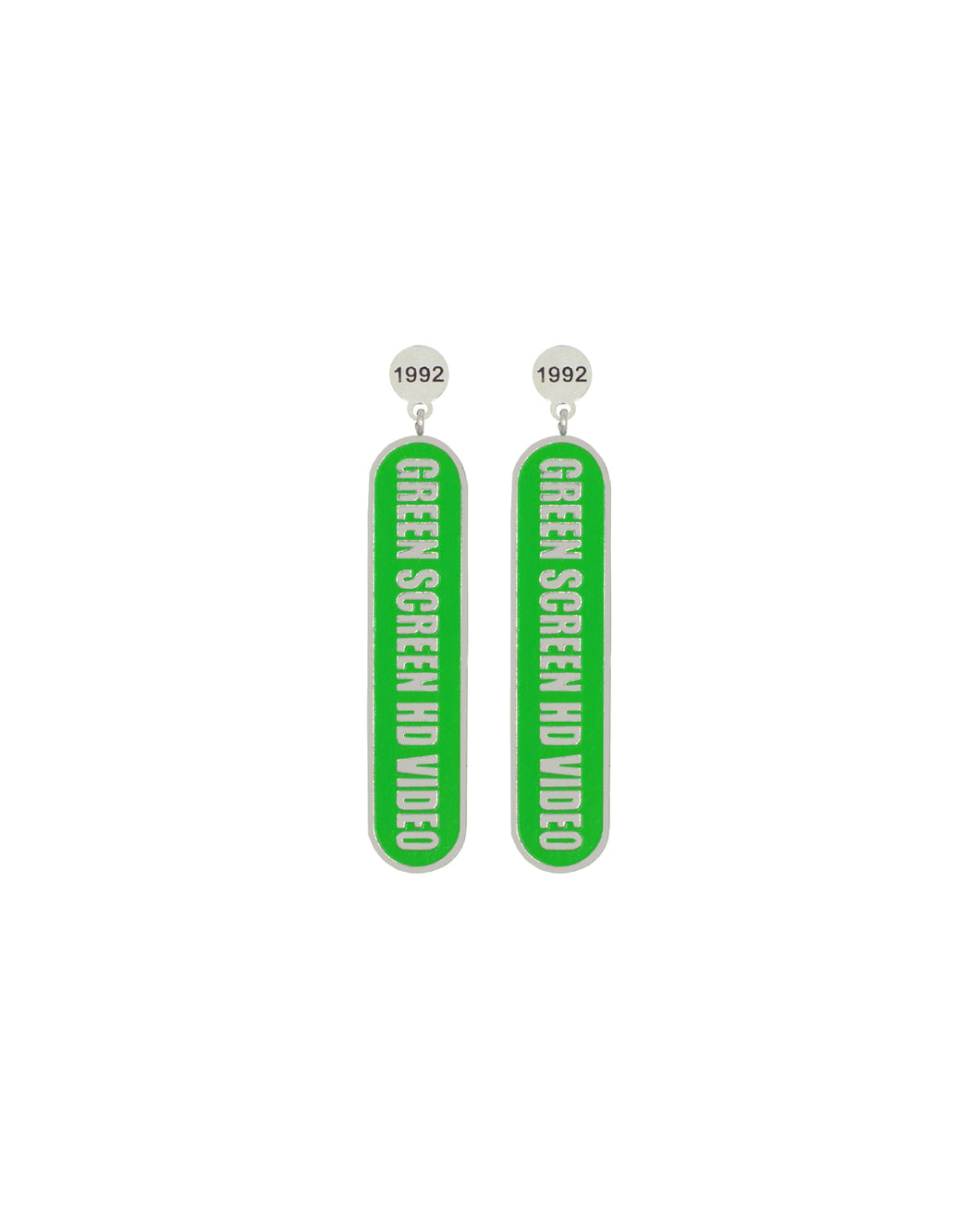 Green Screen HD Earrings