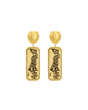 Load image into Gallery viewer, Brain Charm Brainwashhh Earring available in Gold & Silver plating