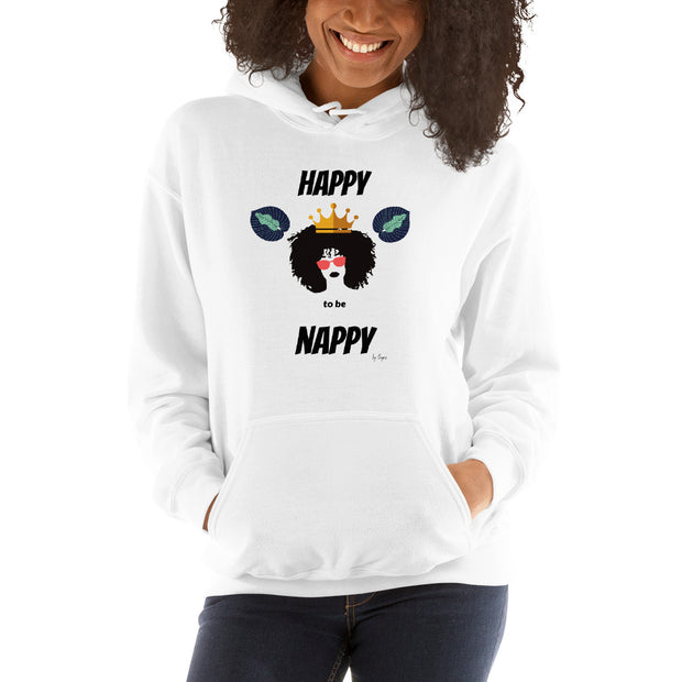 Chill hottie Nappy Queen Hoodie