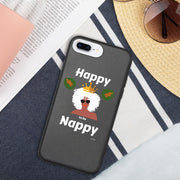 Afro pride Nappy Biodegradable phone case
