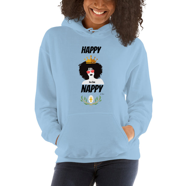 Ancient luxury Nappy Queen Hoodie