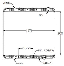Load image into Gallery viewer, Radiator for FREIGHTLINER, Year 2012-