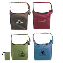 Load image into Gallery viewer, 13x14 RECYCLED RPET SELF-STORAGE SLING BAG