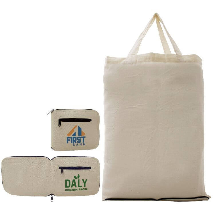 15x13x5 SELF-STORAGE COTTON TOTE BAG