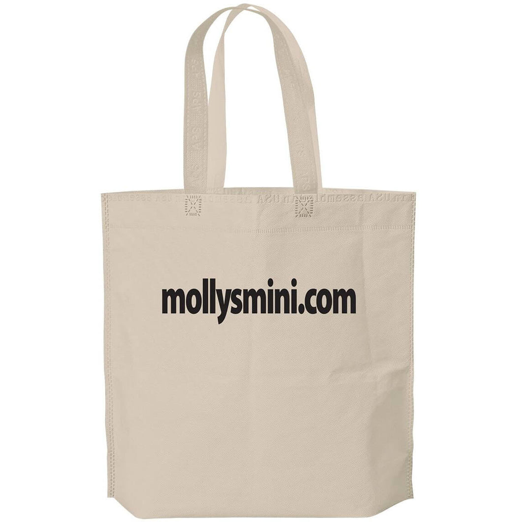 15x15x5 NON-WOVEN TOTE BAG - MADE IN USA