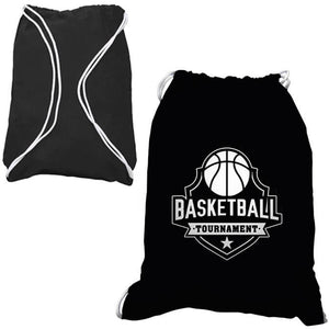 18x14 COTTON DRAWSTRING BACKPACK