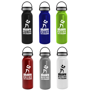 24 OZ WATER BOTTLE WITH EZ-GRIP HANDLE LID