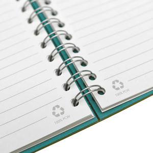 5x7 RECYCLED SPIRAL NOTEBOOK - MADE IN USA