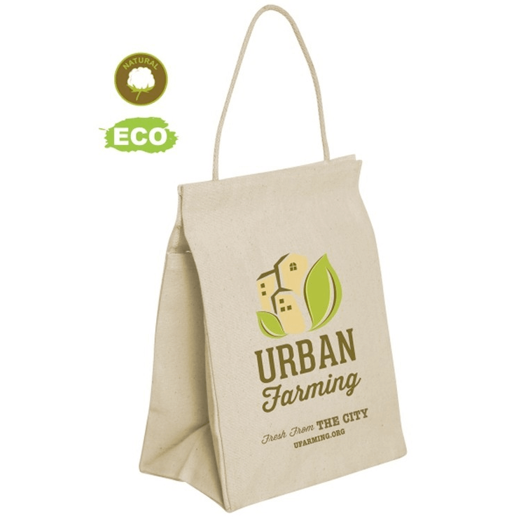 REUSABLE COTTON LUNCH BAG