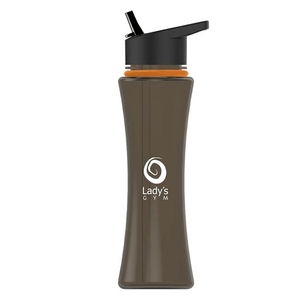 17 OZ CURVE BOTTLE WITH FLIP-UP STRAW