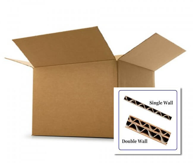 Double Wall Boxes - Removal, Transit & Storage Cardboard Box