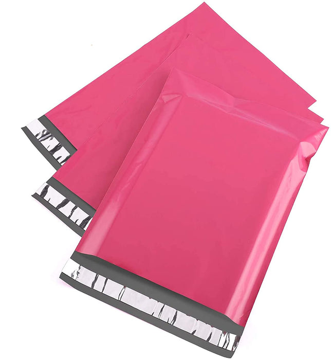 Coloured Poly Mailers Postal Bags 3 Ways Box Shop Peterborough Self Seal Packages Pink