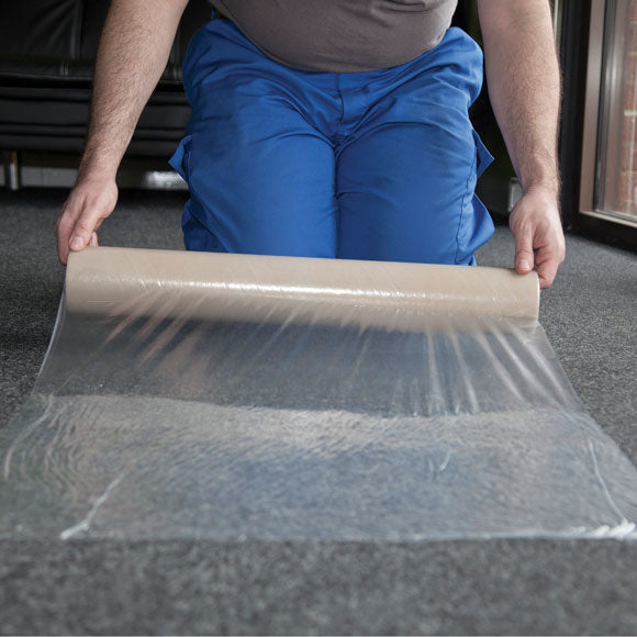 Carpet Protection on a roll, self adhesive ideal for moving house or while decorating Peterborough